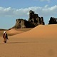 Oasis in the Algerian Sahara, visited on an Expert Algeria holiday