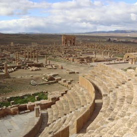 Roman theatre at Timgad